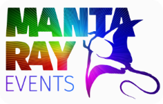Manta Ray Events Logo