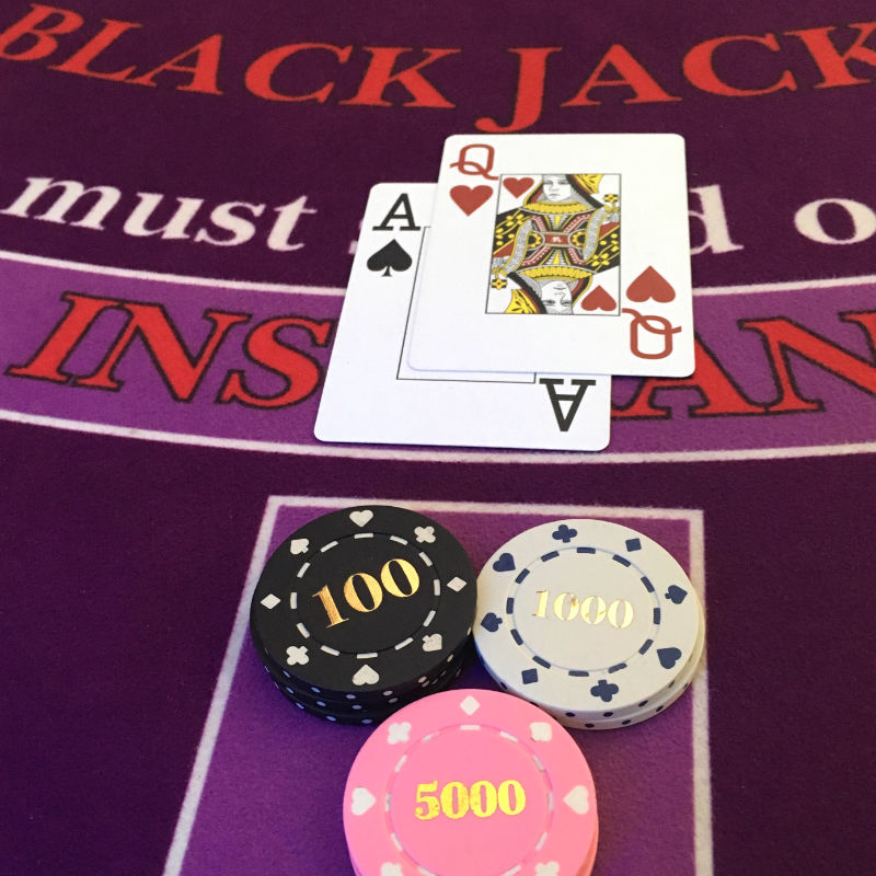 Manta Ray Events - Blackjack Casino Games