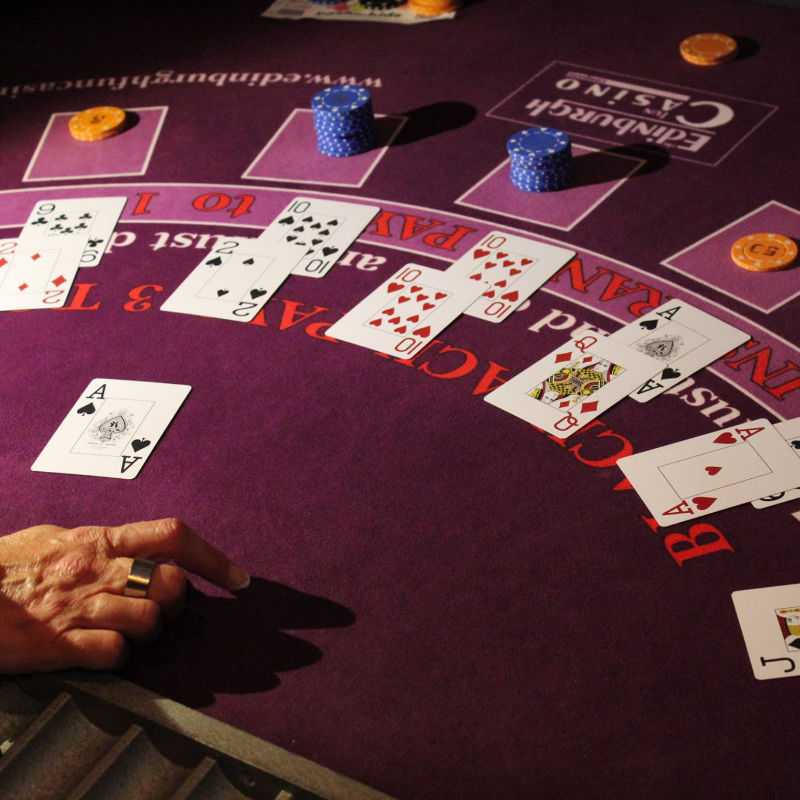 Manta Ray Events - Blackjack Hands