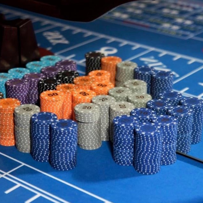 Craps Table - Manta Ray Events