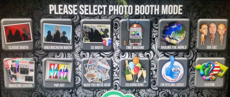 Green Screen Dream Machine Photo Booth