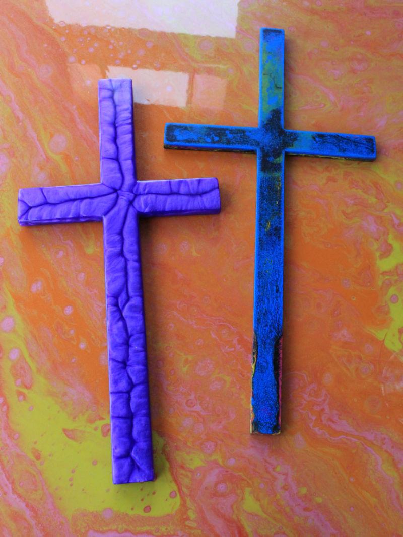 Crucifixes - Manta Ray Designs