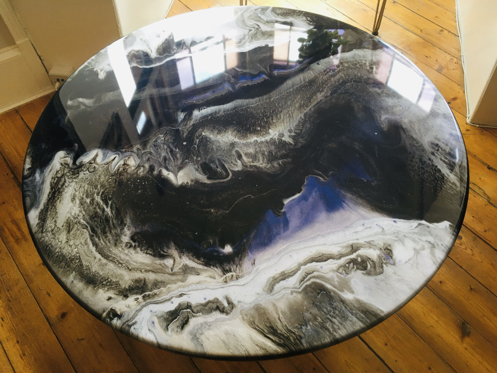 Manta Ray Design - Nebulous table