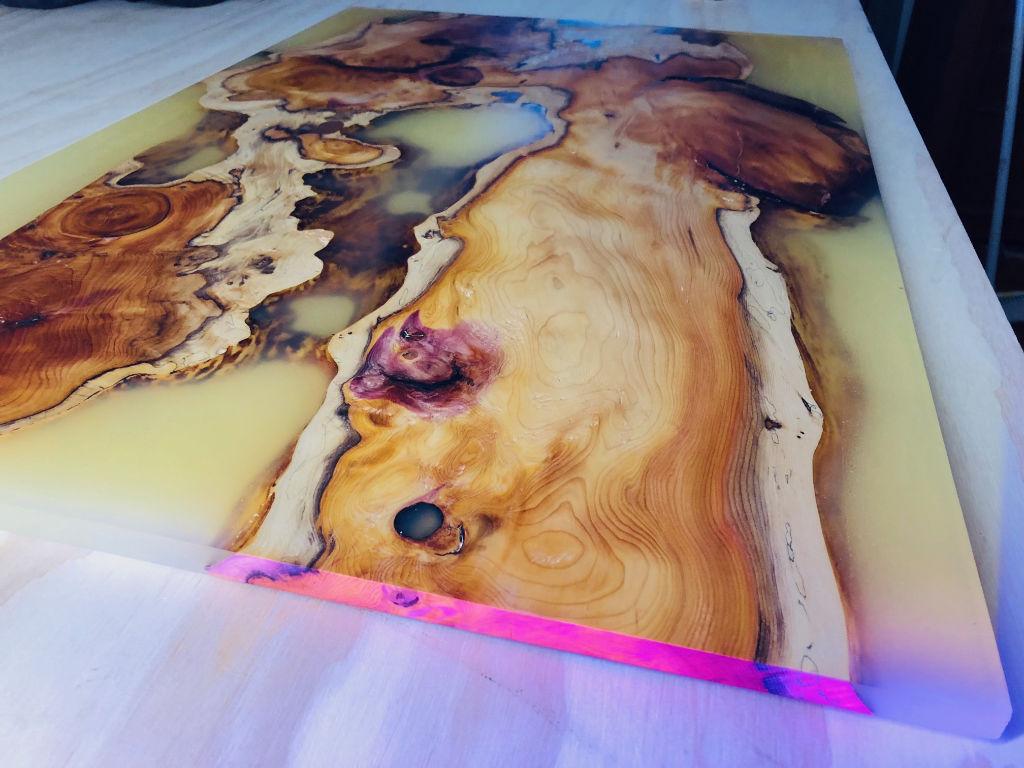 Proteus table - Manta Ray Designs